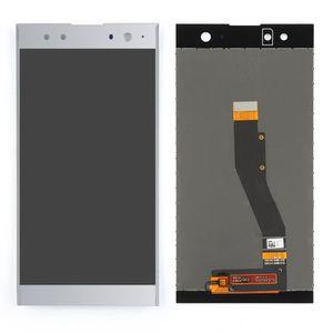 ECRAN DE TÉLÉPHONE Argent Ecran Tactile avec LCD de remplacement pour