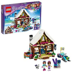 ASSEMBLAGE CONSTRUCTION LEGO Friends - Le chalet de la station de ski - 41