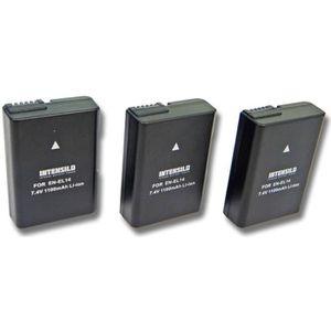 BATTERIE APPAREIL PHOTO 3x Batterie de remplacement pour Appareil photo, c