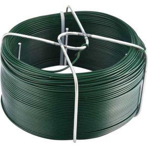 CLÔTURE - GRILLAGE Ce fil de fer plastifié vous accompagnera dans ...