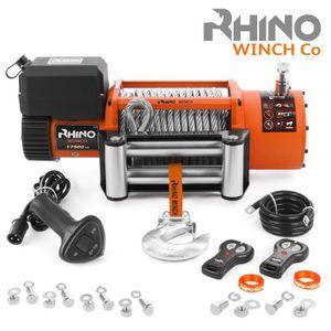 TREUIL AUTO Rhino Treuil Électriques  7940 kg - 12v - Câble en