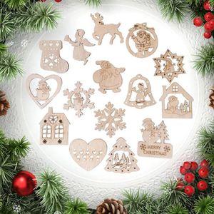 8 X Assortiment pendaison traiter box Arbre de Noël Décorations de fête partie de saison