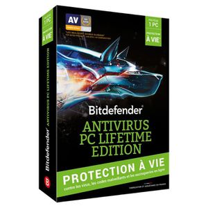 ANTIVIRUS Bitdefender Antivirus PC Lifetime Edition - Protec