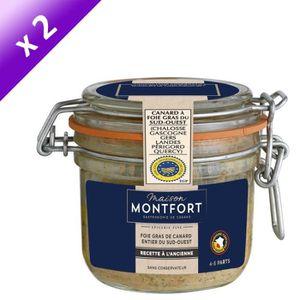 FOIE GRAS MAISON MONTFORT Foie gras de canard entier - Recet