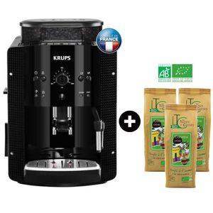 MACHINE À CAFÉ KRUPS YY8125FD Machine expresso automatique avec b