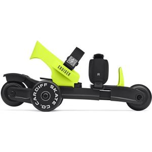 PATIN - QUAD Cardiff Rollers Enfant - Citron - Taille 29-39