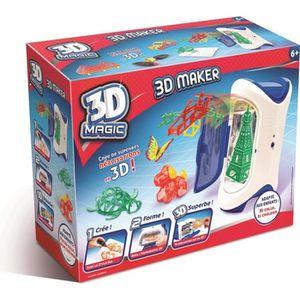KIT DE DESSIN 3D MAGIC MAKER Création et réalisation 3D - 6 ans