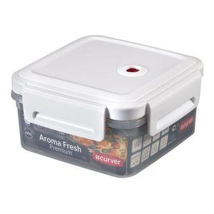 BOITES DE CONSERVATION CURVER Boîte Aroma Fresh Premium carrée 1,1L à val