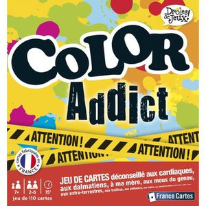 CARTES DE JEU CARTAMUNDI Jeu 110 Cartes Color Addict