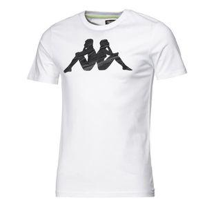 T-SHIRT KAPPA T-shirt - Homme - Blanc