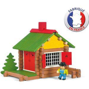 ASSEMBLAGE CONSTRUCTION JEUJURA - Mon Chalet- - Maison Forestiere -Jouet e