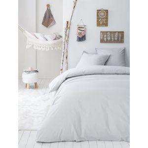 HOUSSE DE COUETTE ET TAIES TODAY Parure de couette Coton Lavé STOCKHOLM KRIS