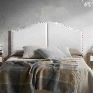 TÊTE DE LIT ZULEIKA Tête de lit 160 cm en simili - Blanc