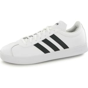 low priced 74540 2f8f6 BASKET ADIDAS Baskets Vl Court 2.0 LTH - Homme - Noir et ...