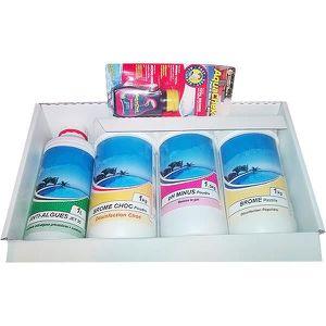 TRAITEMENT DE L'EAU  Kit complet de produits pour le traitement au brom