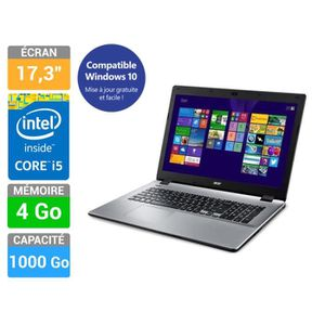 Acer PC Portable Aspire E5-771-592S