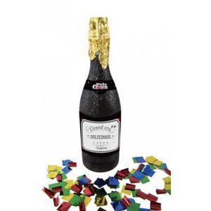 Nouveau Fête D/'Anniversaire Multicolore Feuille Confettis Champagne bouteilles