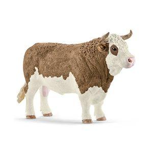 FIGURINE - PERSONNAGE Schleich Figurine 13800 - Animal de la ferme - Tau