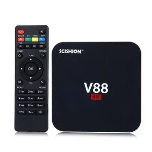 BOX MULTIMEDIA SCISHION V88 Smart TV Box 4K  Mini Smart PC Rockch