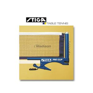 FILET TENNIS DE TABLE STIGA Filet de tennis de table Pro Clip Ref. 82179