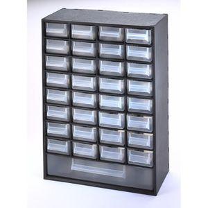 BAC DE RANGEMENT OUTILS SUNDIS Bloc de rangement Multibox avec 33 tiroirs