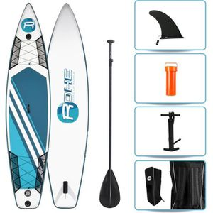 STAND UP PADDLE ROHE Pack Paddle Gonflable Race - 365x81x15cm - Av