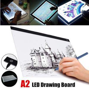 KIT DE DESSIN Tablette Lumineuse A2 Tactile LED Planche À Dessin