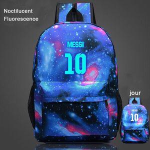 CARTABLE Messi 10-Sac à dos Noctilucent Fluorescence-cartab