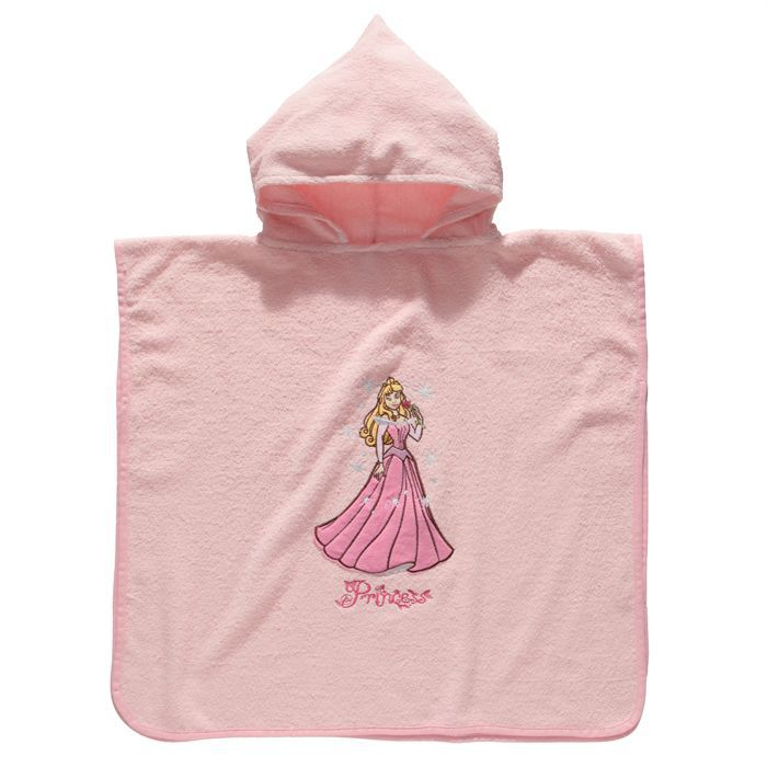 Disney princess poncho de bain fille achat vente for Peignoir de bain fille