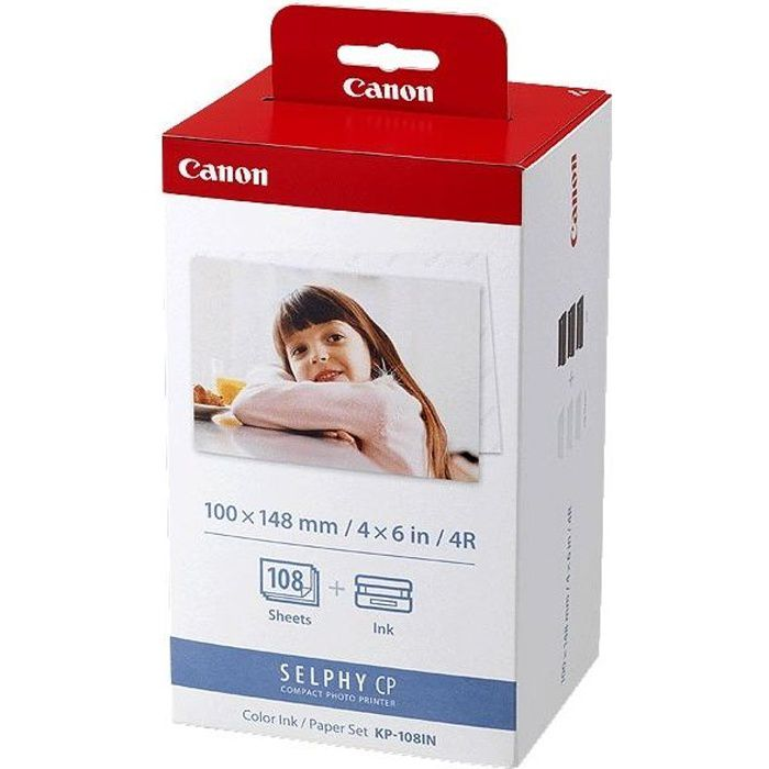 Photo de canon-kit-kp-108in-papier-x1