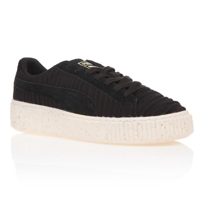 the best attitude f748a 499be BASKET PUMA Baskets Platform OW Chaussures Femme