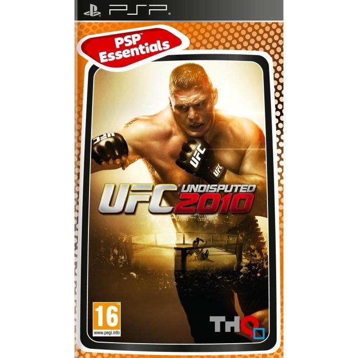 UFC 2010 ESSENTIELS / Jeu console PSP