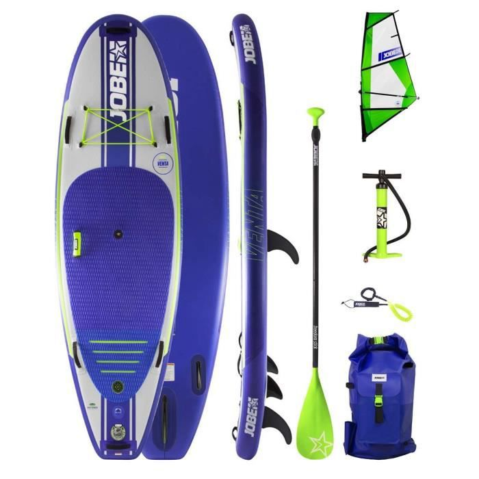 JOBE Pack Stand Up Paddle gonflable Aero Venta 9.6 + Voile Aero Venta 3,5 m2