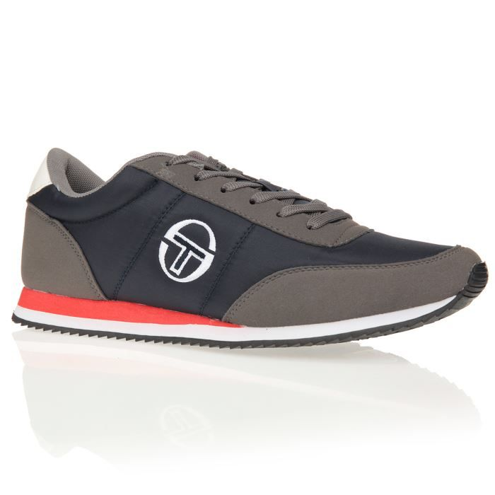 sergio tacchini baskets nantes nyx chaussures homme homme gris et marine achat vente sergio. Black Bedroom Furniture Sets. Home Design Ideas