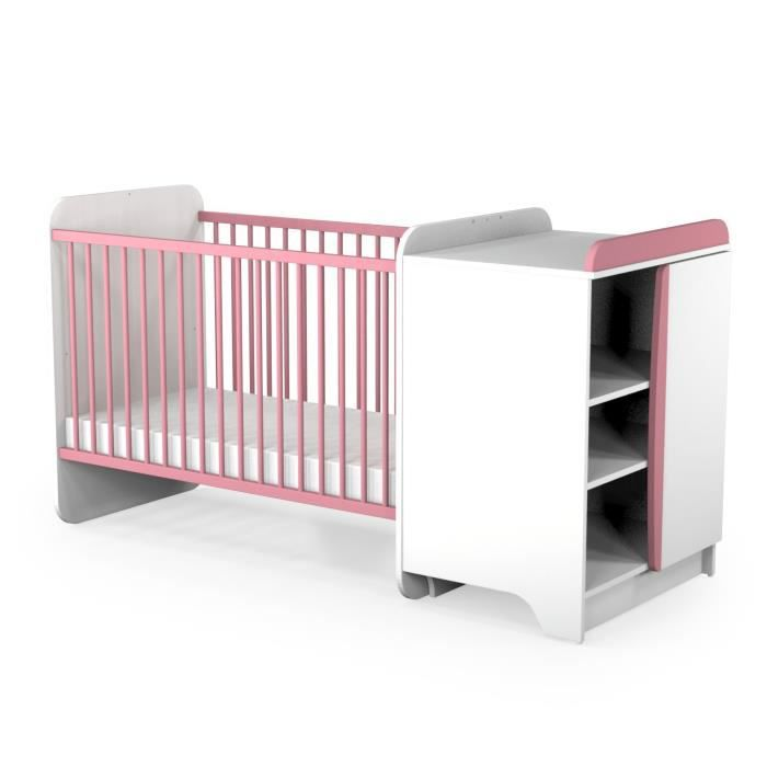 lit bebe combine evolutif. Black Bedroom Furniture Sets. Home Design Ideas