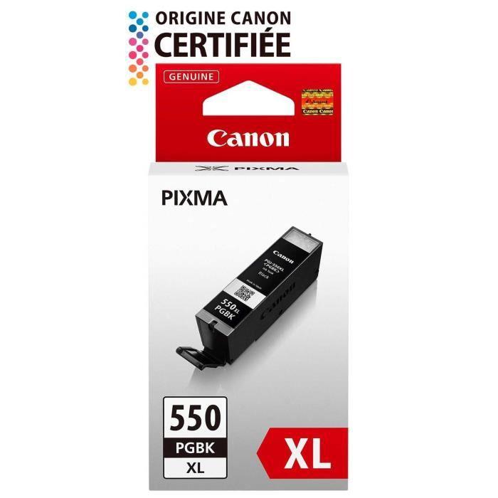 Canon Pgi 550Xl Pgbk Cartouche d'encre Noir