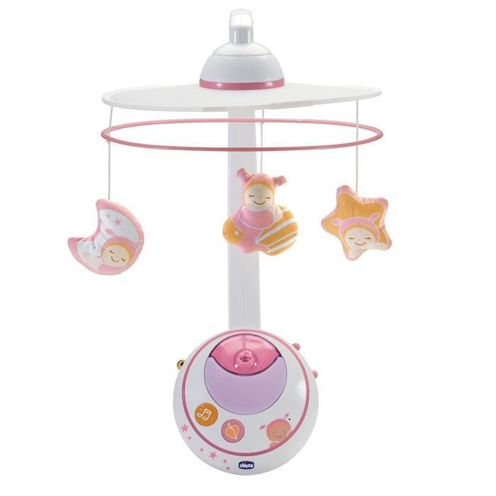 MOBILE CHICCO Mobile Double Projection Rose First Dreams