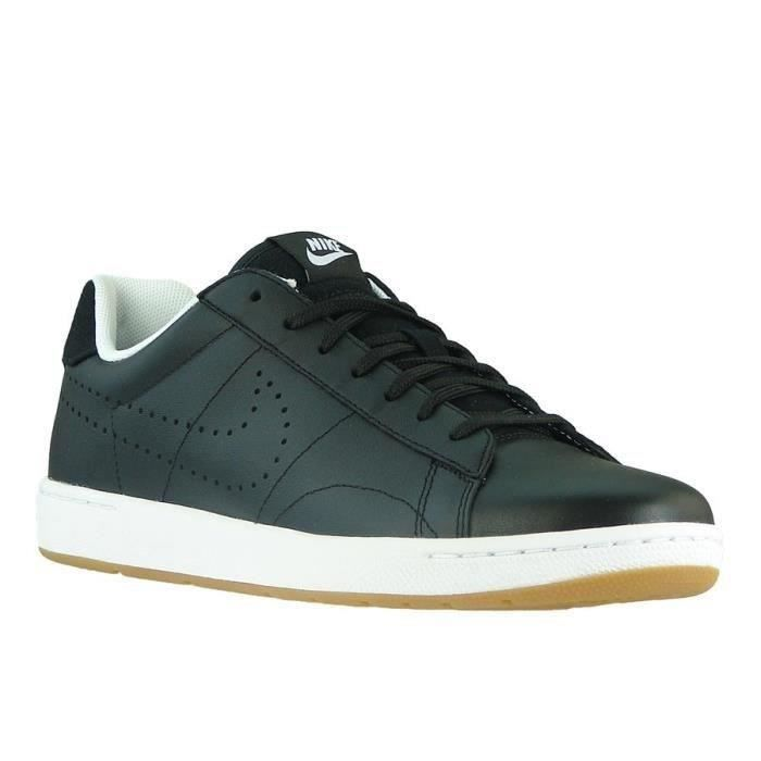 nike baskets tennis classic chaussures homme femme noir achat vente nike baskets homme femme. Black Bedroom Furniture Sets. Home Design Ideas
