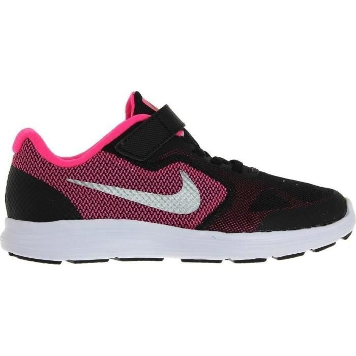 nike baskets revolution 3 chaussures enfant fille noir achat vente basket cdiscount. Black Bedroom Furniture Sets. Home Design Ideas