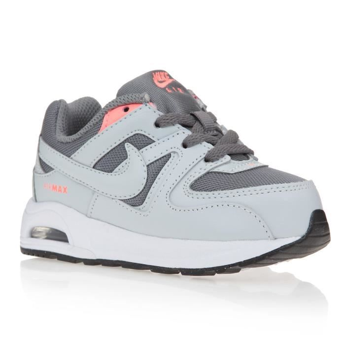 nice cheap limited guantity the sale of shoes NIKE Baskets Air Max Command Flex Chaussures Bébé Garçon Gris ...