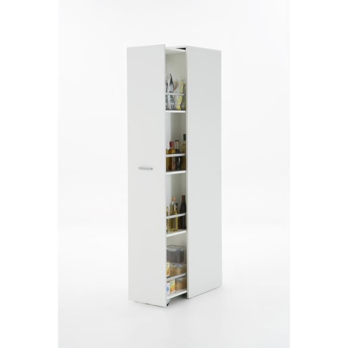 ronda meuble pices 35 cm blanc achat vente colonne armoire sdb ronda meuble. Black Bedroom Furniture Sets. Home Design Ideas