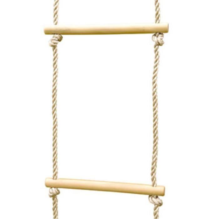 TRIGANO Échelle de corde pour ensemble de balançoire 1,9-2,5 m J-423