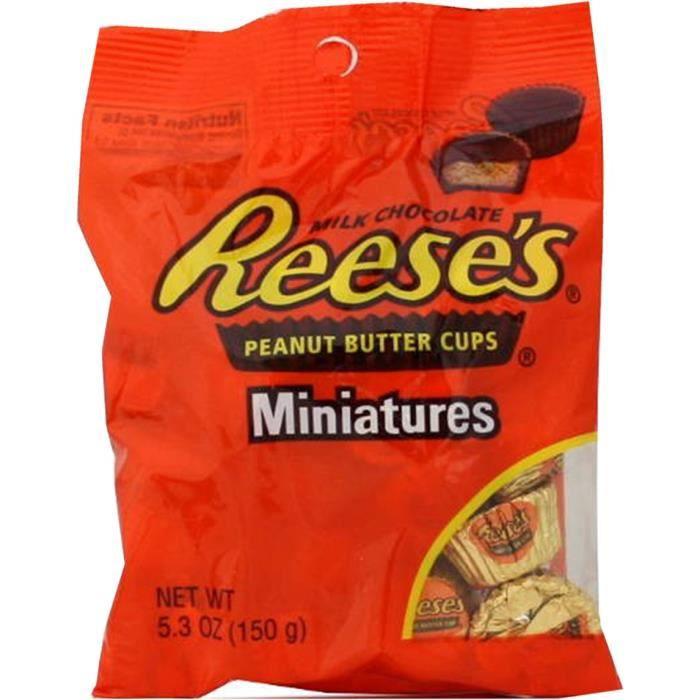 REESE'S Cups Miniatures au Beurre de Cacahuètes - 150 g