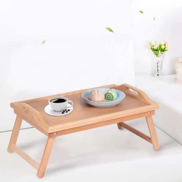 Table basse multifonctionnelle de ménage petite table de thé de casse-croûte d'extrémité latérale en bois meubles d'extérieur