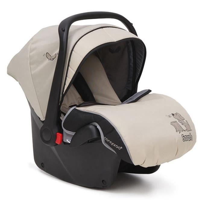 Siège auto enfant Moni Sarah groupe 0+ (0 - 13 kg) avec couvre-pieds [Beige]