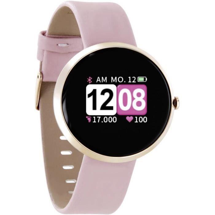 Montre connectée X-WATCH Siona Color Fit 54036 rose 1 pc(s) - CARDIOFREQUENCEMETRE - ACCESSOIRE - PIECE DETACHEE