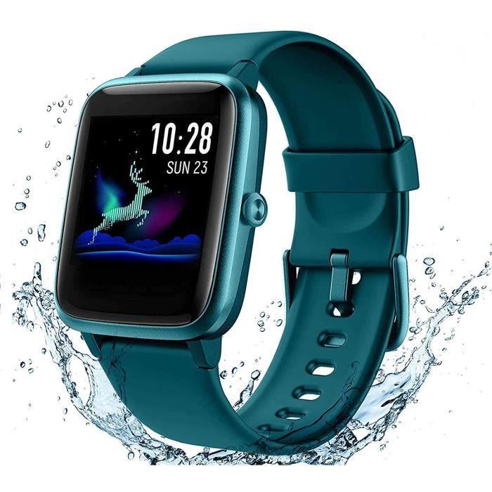 Arbily Montre Connectée Smartwatch pour Femmes Hommes Tracker d' Activité Bracelet Connecté IP68 Étanche Sport Fitness Podomètre585