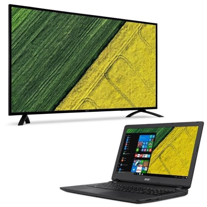 Acer eb490qk ecran 485 dalle ips 4ms displayportvgahdmi pc portable aspire es1 523 156 offert