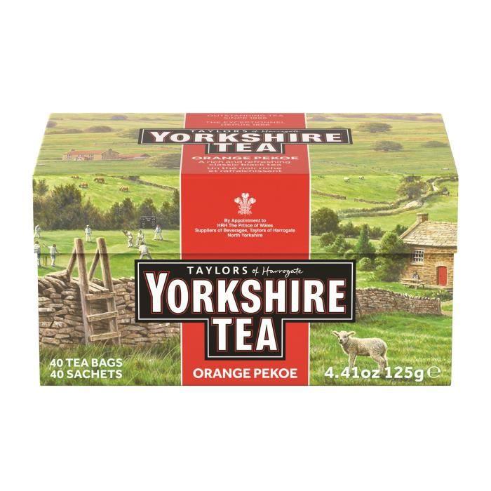 TAYLORS Thé Yorkshire - 40 sachets - 125 g
