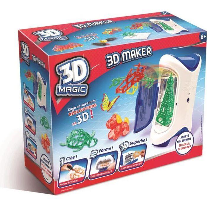 3D MAGIC MAKER Création et réalisation 3D - 6 ans et +